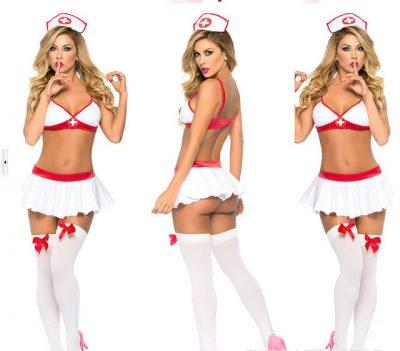 Dr Donna - szexi ápolónő jelmez szerepjátékokhoz